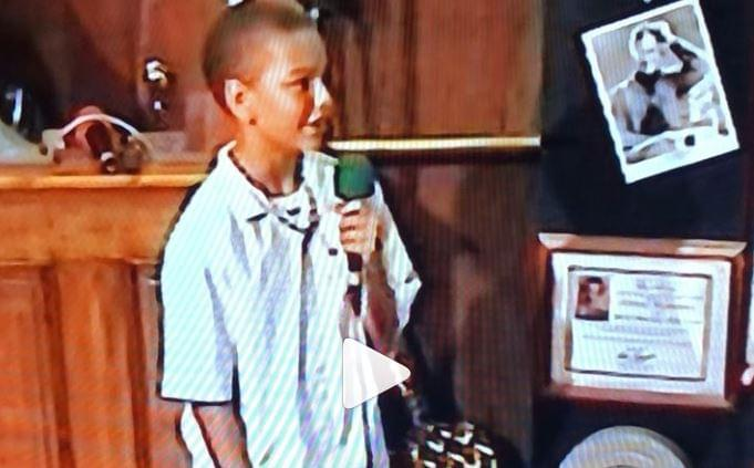 12-Year-Old Kane Brown sings a Tim McGraw classic [VIDEO]