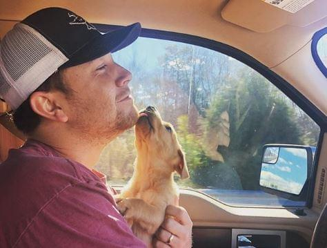 Scotty McCreery has gone to the dogs.