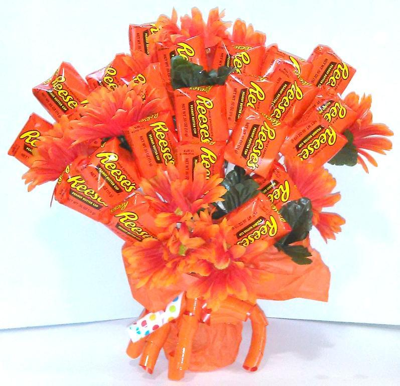 This Valentine's Day, Get a Bouquet Made Out of Reese's, M&Ms, and Other Candies