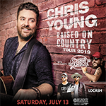 Win Tickets to see Chris Young with Chris Janson and LOCASH!