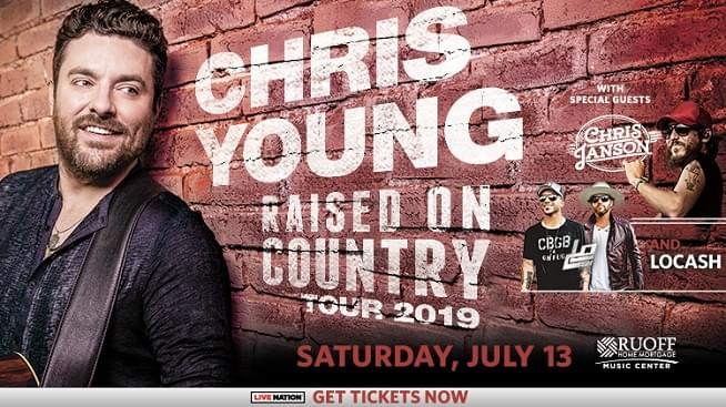 July 13th – Chris Young