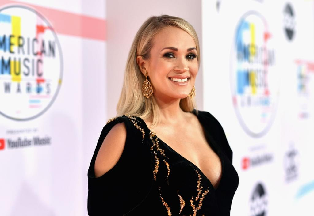 Carrie Underwood To Host CMA Awards…Without Brad Paisley