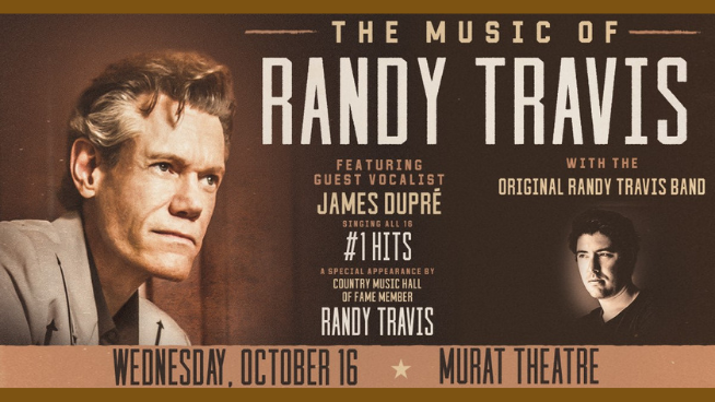October 16 – The Music of Randy Travis