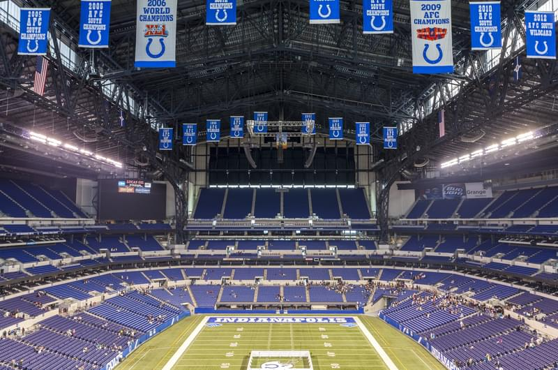 Lucas Oil Stadium is #2 for your #2 needs