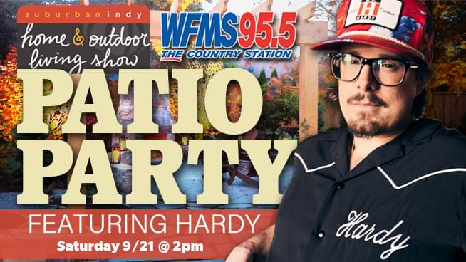 September 21 – 95.5 WFMS Patio Party