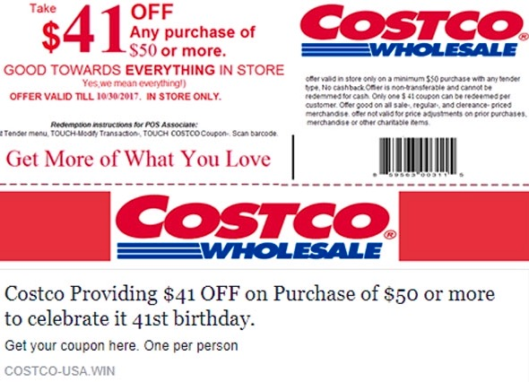 WARNING! This Fake Costco Coupon Could Damage Your Computer! | WJJK-FM