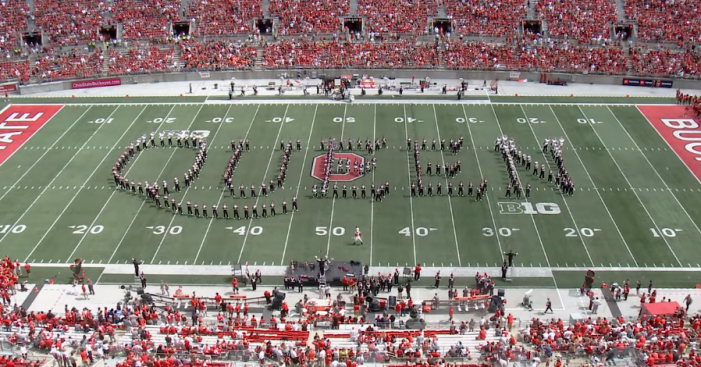 The Ohio State Marching Band Performs Queen Songs During Halftime!