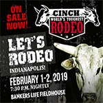 Register to Win Tickets to Cinch World's Toughest Rodeo!