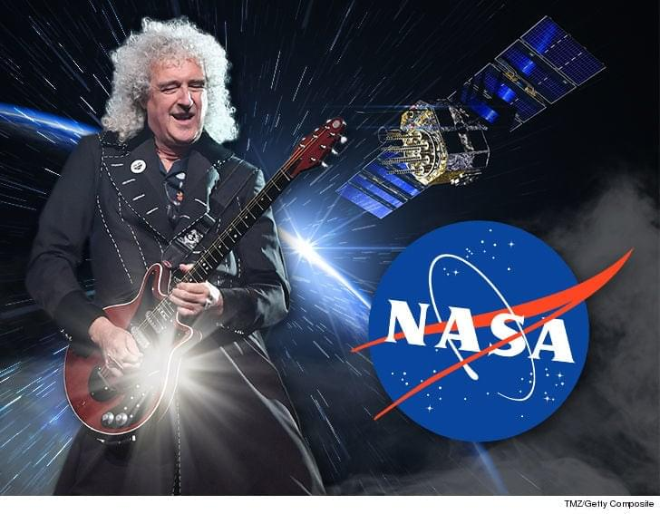 Queen's Brian May Blasts off with a Nasa Inspired Song
