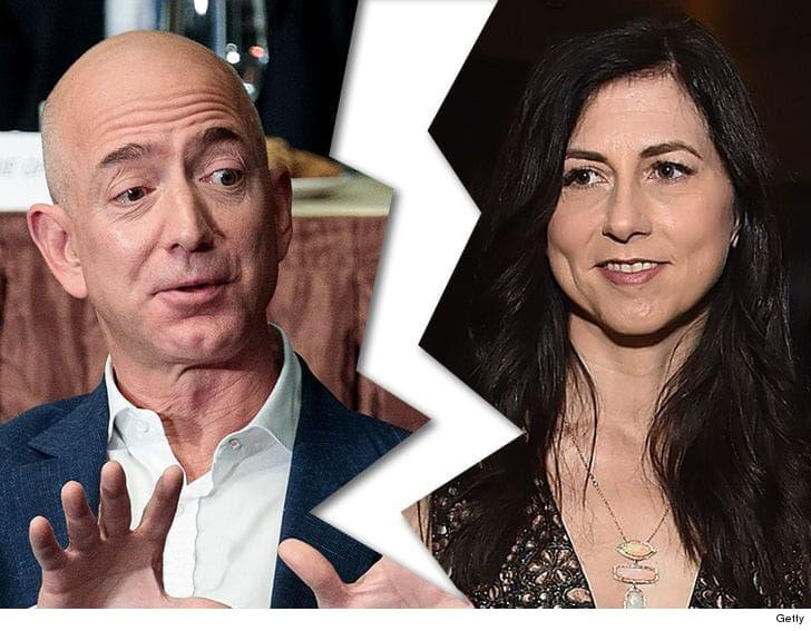 Amazon's Jeff Bezos and his wife MacKenzie are divorcing after 25 years!