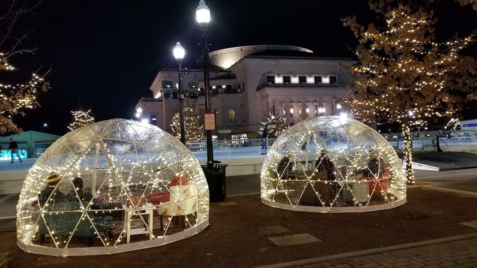 How Cool are these Igloos?