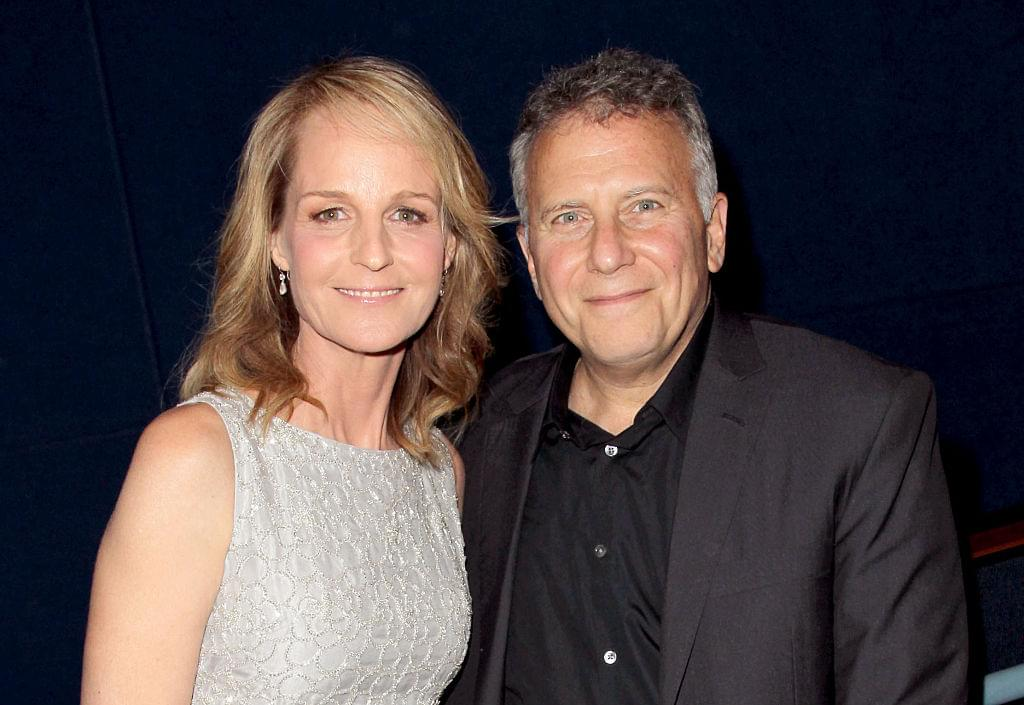 Helen Hunt and Paul Resier