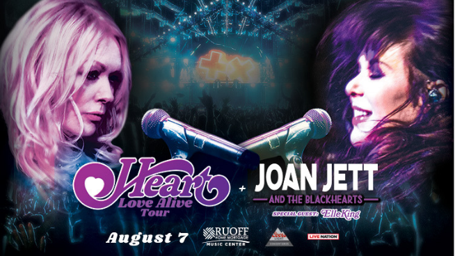 August 7 – Heart with Joan Jett & The Blackhearts