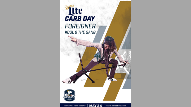 May 24 – Foreigner at Miller Lite Carb Day