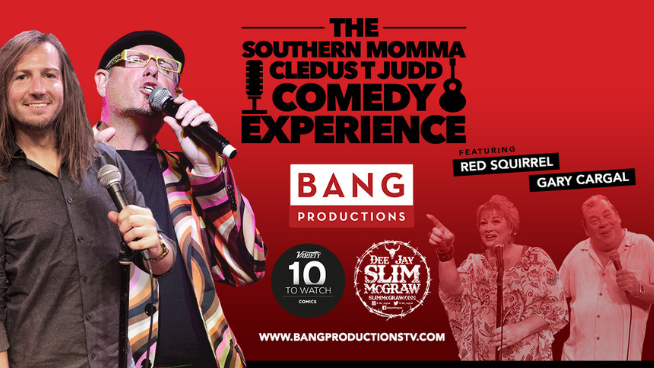 April 27 – The Southern Momma Cledus T Judd Comedy Experience