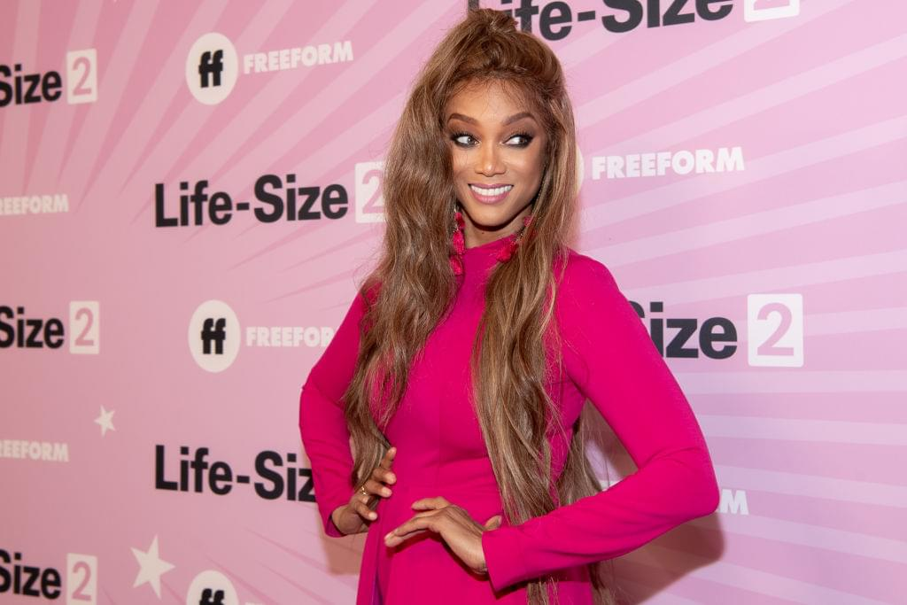 Tyra Banks Comes Out Of Retirement At Age 45 To Cover Sports Illustrated Swimsuit Edition [PHOTO]