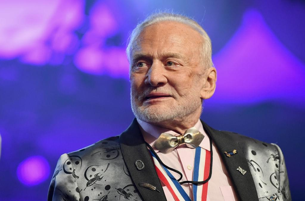 Buzz Aldrin Remembers The First Moon Landing [WATCH]