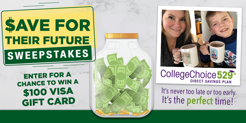 CollegeChoice 529 August Sweepstakes