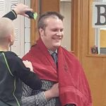 A Principal Shaved His Head After a Bald Kid Got Picked On