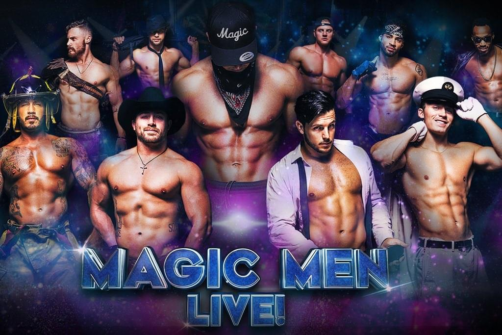 Win Magic Men Tickets All Week During The 5 @ 5 With Justin Luvv!
