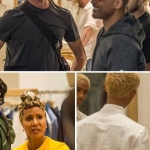 Will Smith Goes Chic Shopping with the Family in Capri, Italy