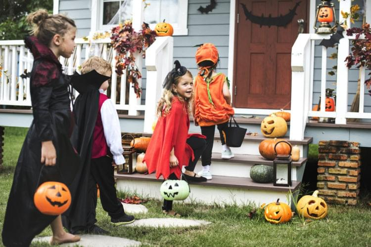 2018 Central Indiana Trick or Treat Times