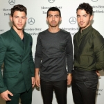 The Jonas Brothers Music Video Shoot Looks Like a 'Miami Vice' Reboot