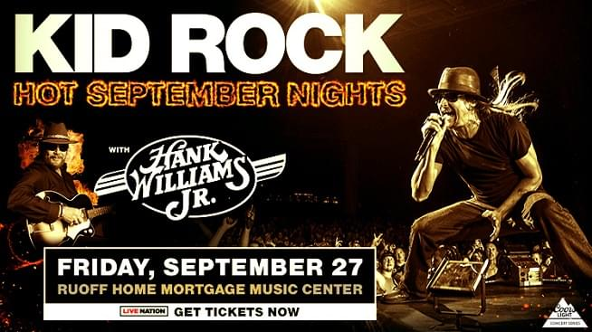 September 27 – Kid Rock