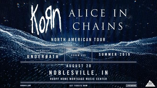 August 20 – Korn & Alice In Chains