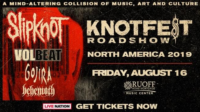August 16 – Slipknot Knotfest Roadshow