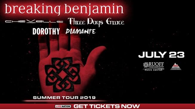 July 23 – Breaking Benjamin
