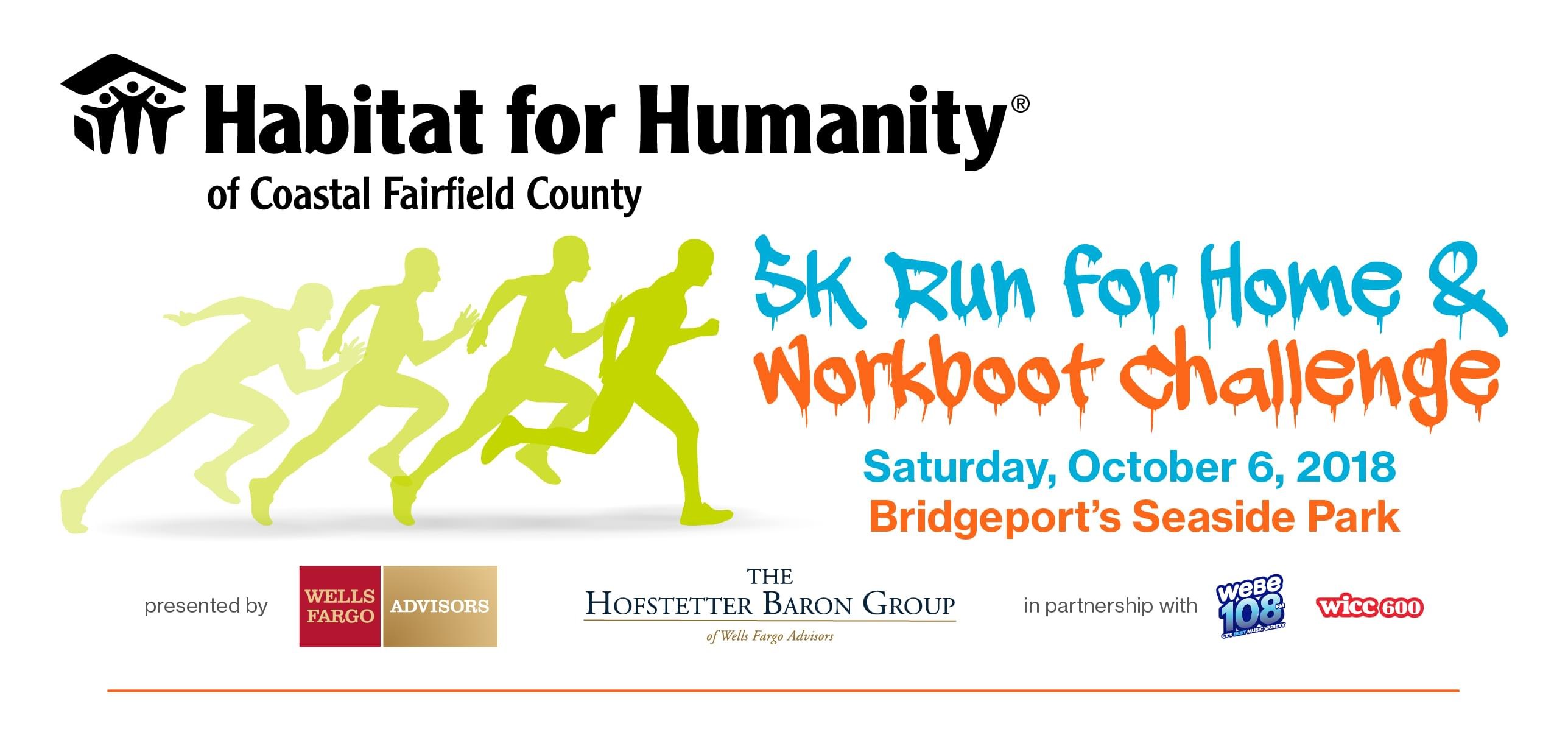 Habitat For Humanity 5k Run for Home and WorkBoot Challenge