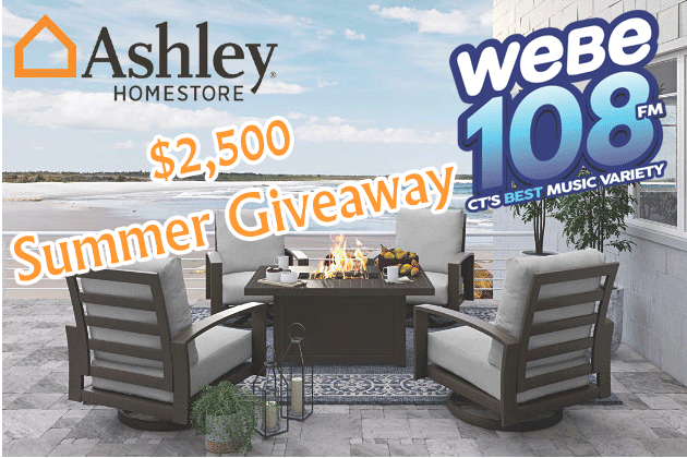 WEBE108 Ashley Homestore $2,500 Summer Giveaway