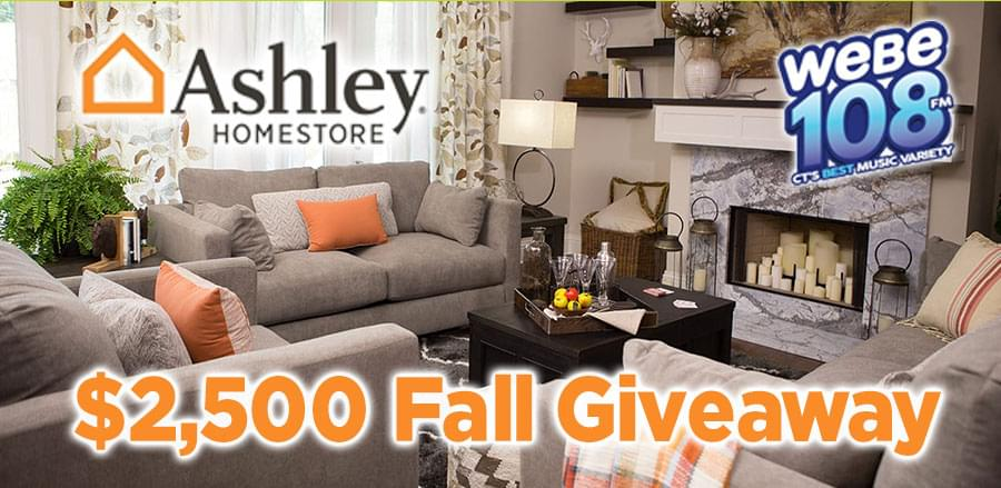 Sikorsky Credit Union $2,500 Ashley Homestore Fall Giveaway