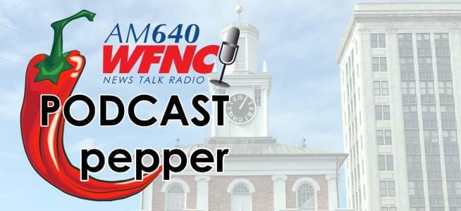Good Morning Fayetteville on News Talk 640 WFNC is the information crossroads in Fayetteville.  Newsmakers, movers, shakers and performers all make their way to GMF to get their word out.  The Podcast Pepper is where you can get a taste of the hot topics any time, any day.