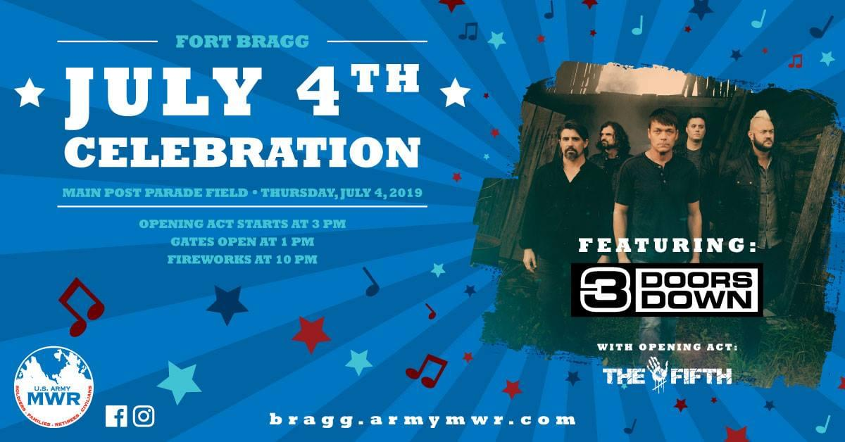 4th of July @ Fort Bragg