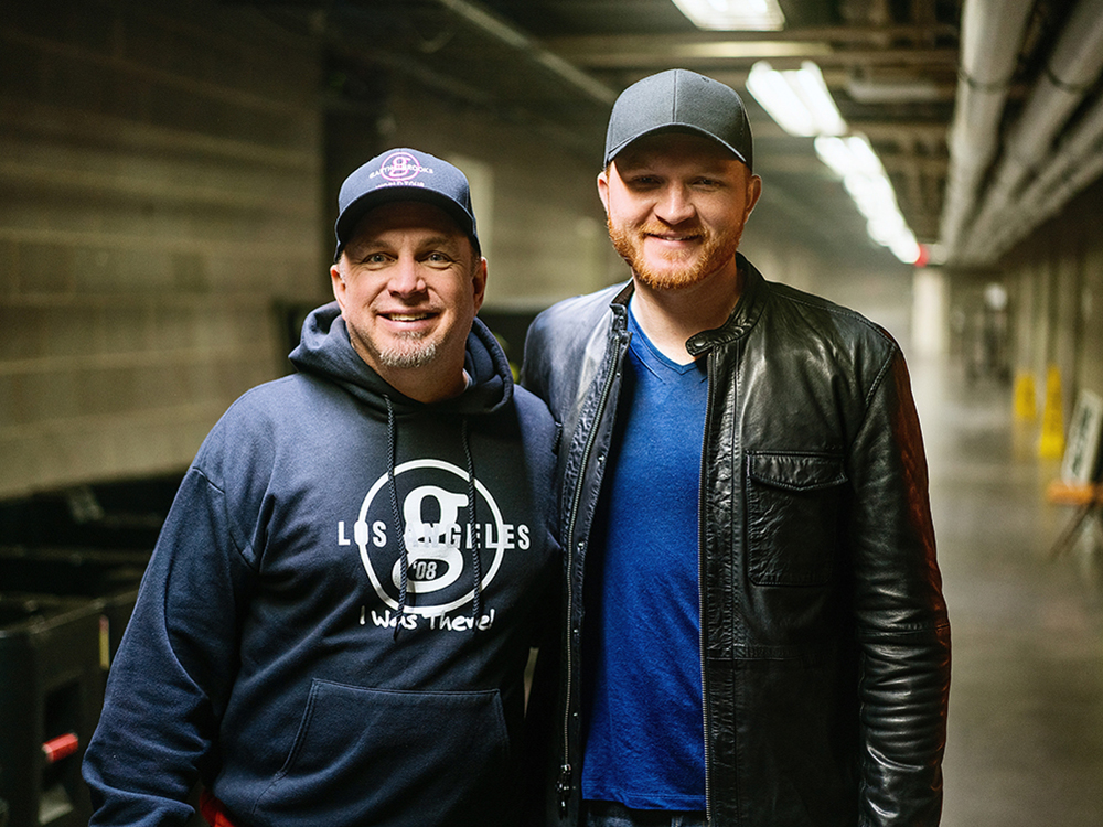 "Eric Paslay Opens Tour Date for Garth Brooks; Rocks ""Today Show"" With ""Angels in This Town"" Performance"