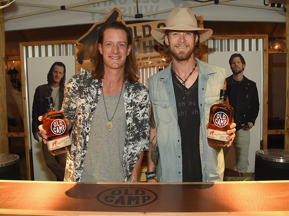 Florida Georgia Line's Brian Kelley and Tyler Hubbard Take Hands-On Approach When Making Old Camp Whiskey