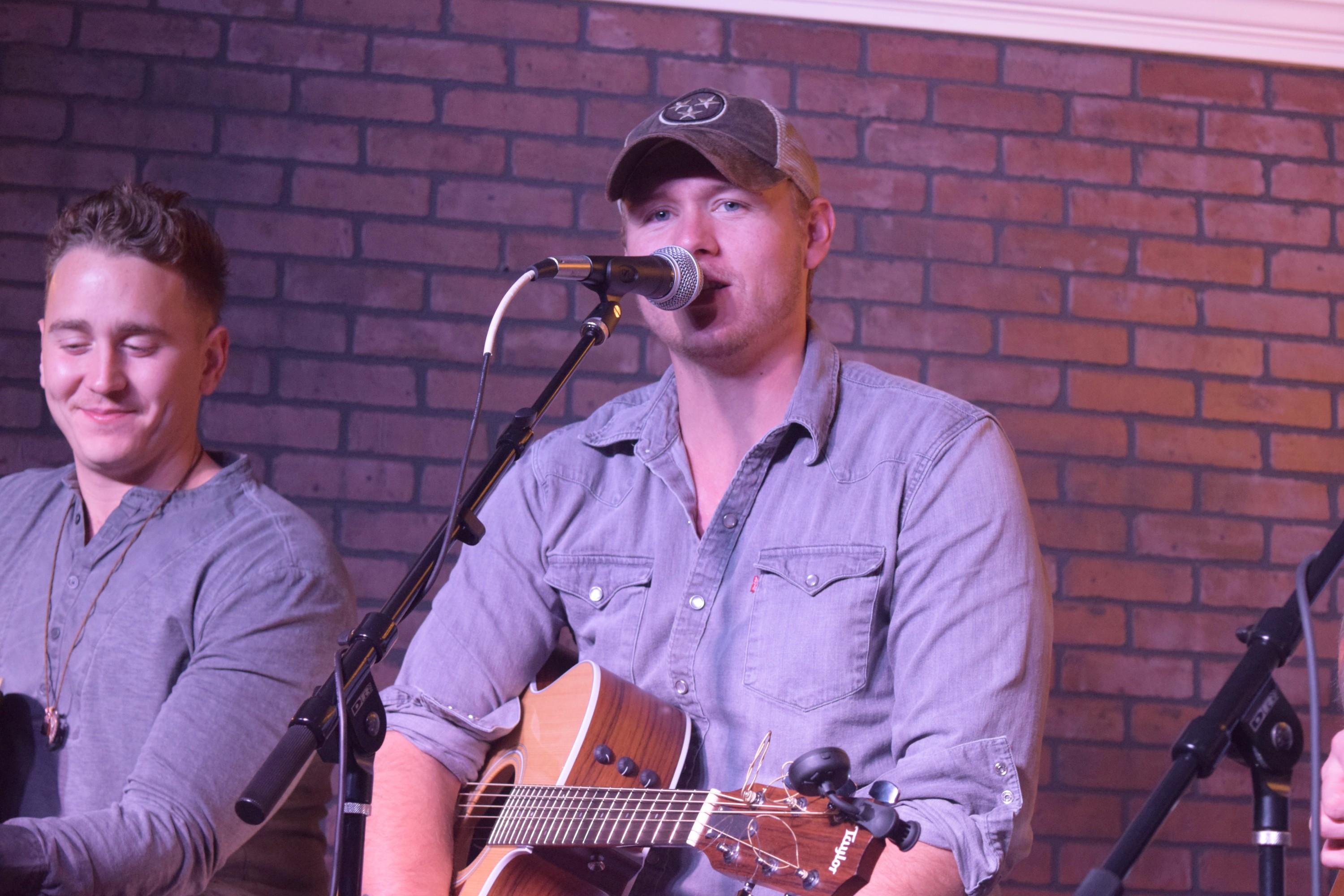 James Barker Band in the Music City Performance Studio