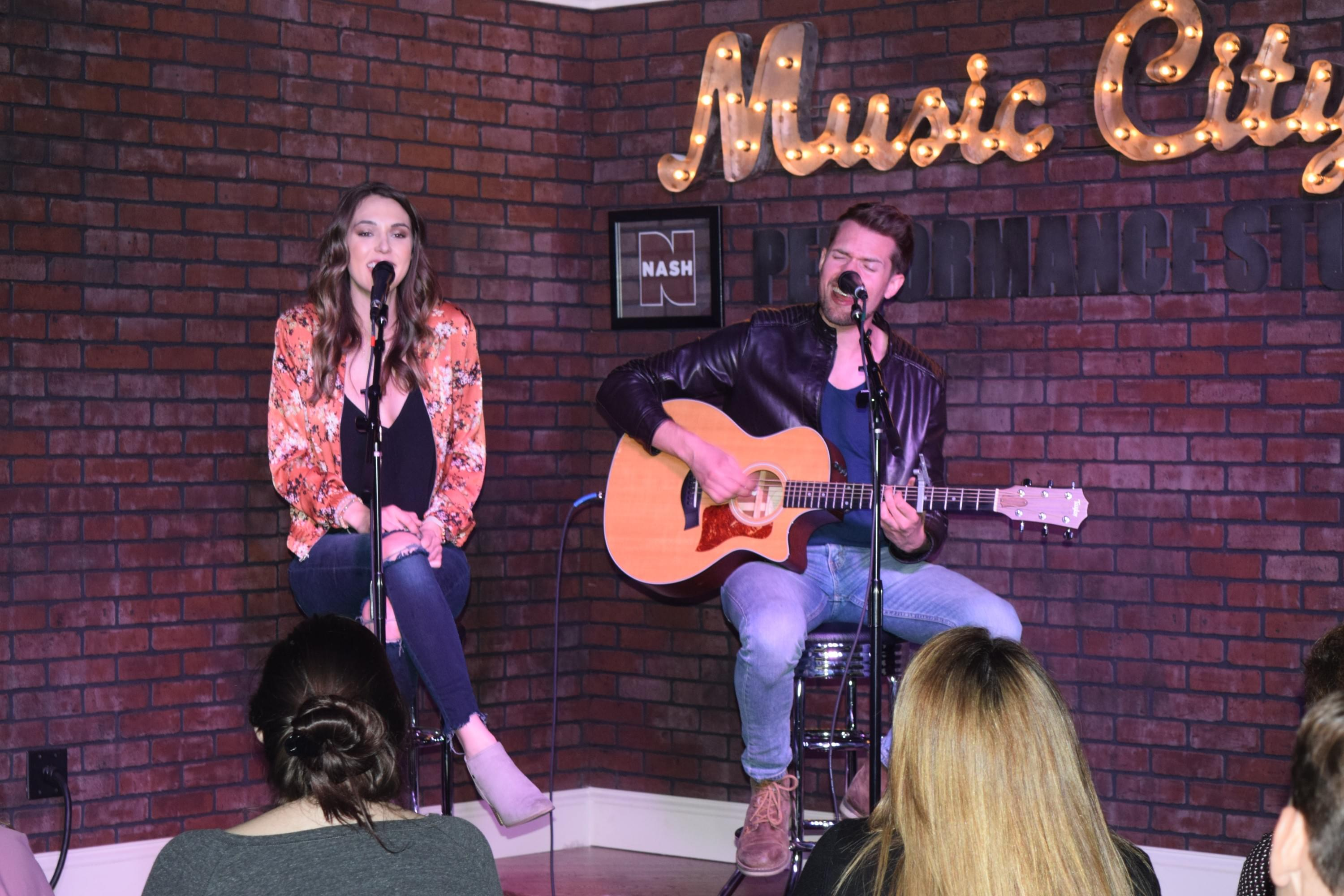 Smithfield Joins Us in the Music City Performance Studio