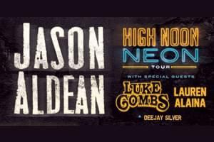 Jason Aldean is Coming to Nashville!