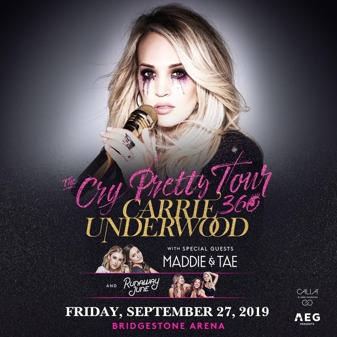 Carrie Underwood – The Cry Pretty Tour 360