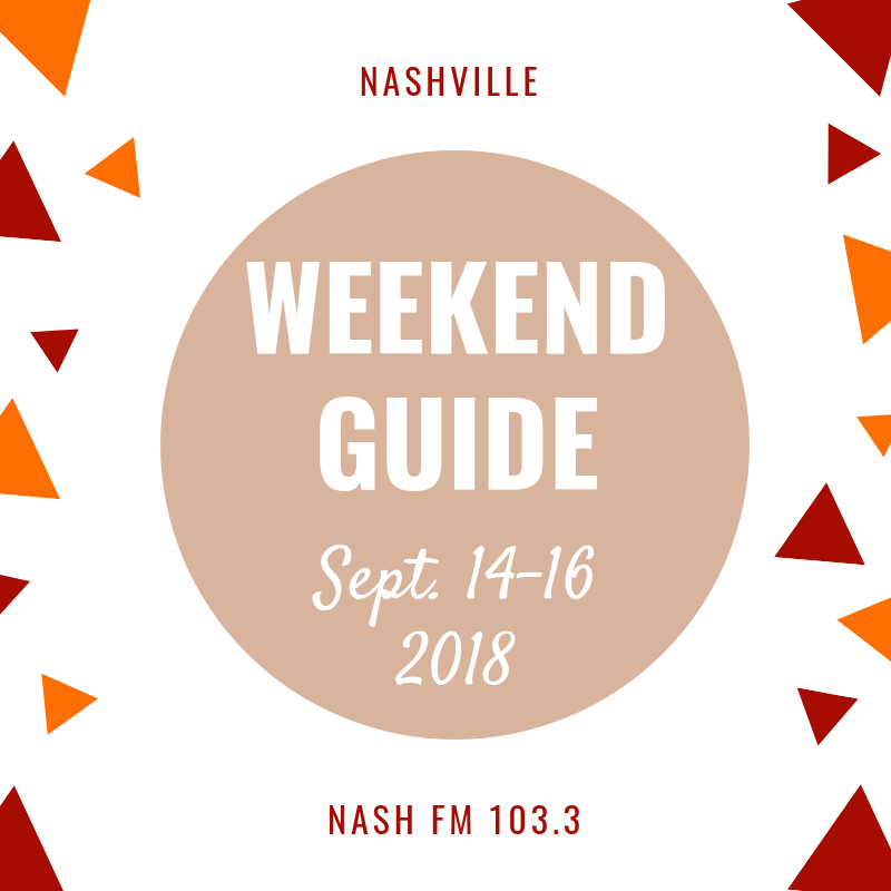 Weekend Guide: September 14-15