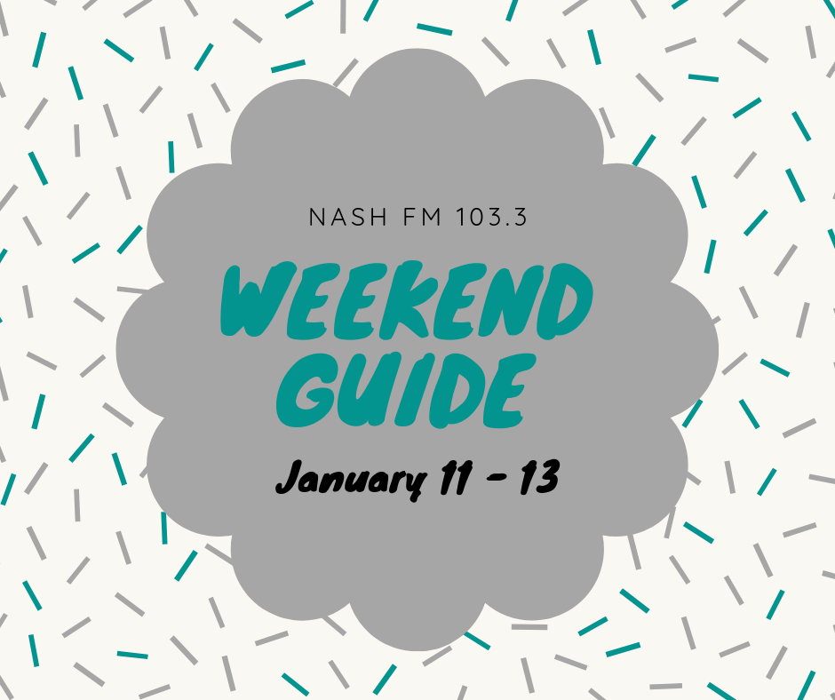 Weekend Guide : January 11 – 13