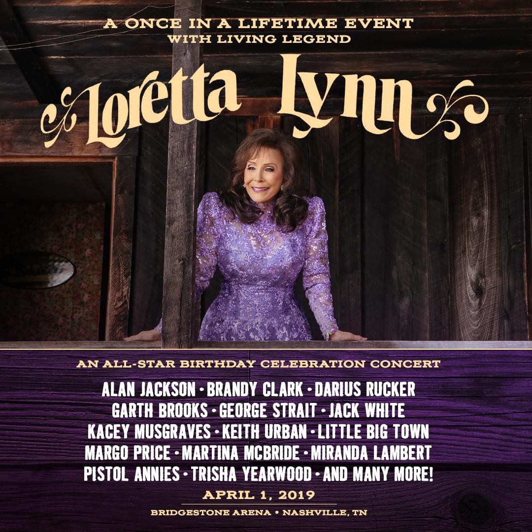 Loretta Lynn & Friends Birthday Bash