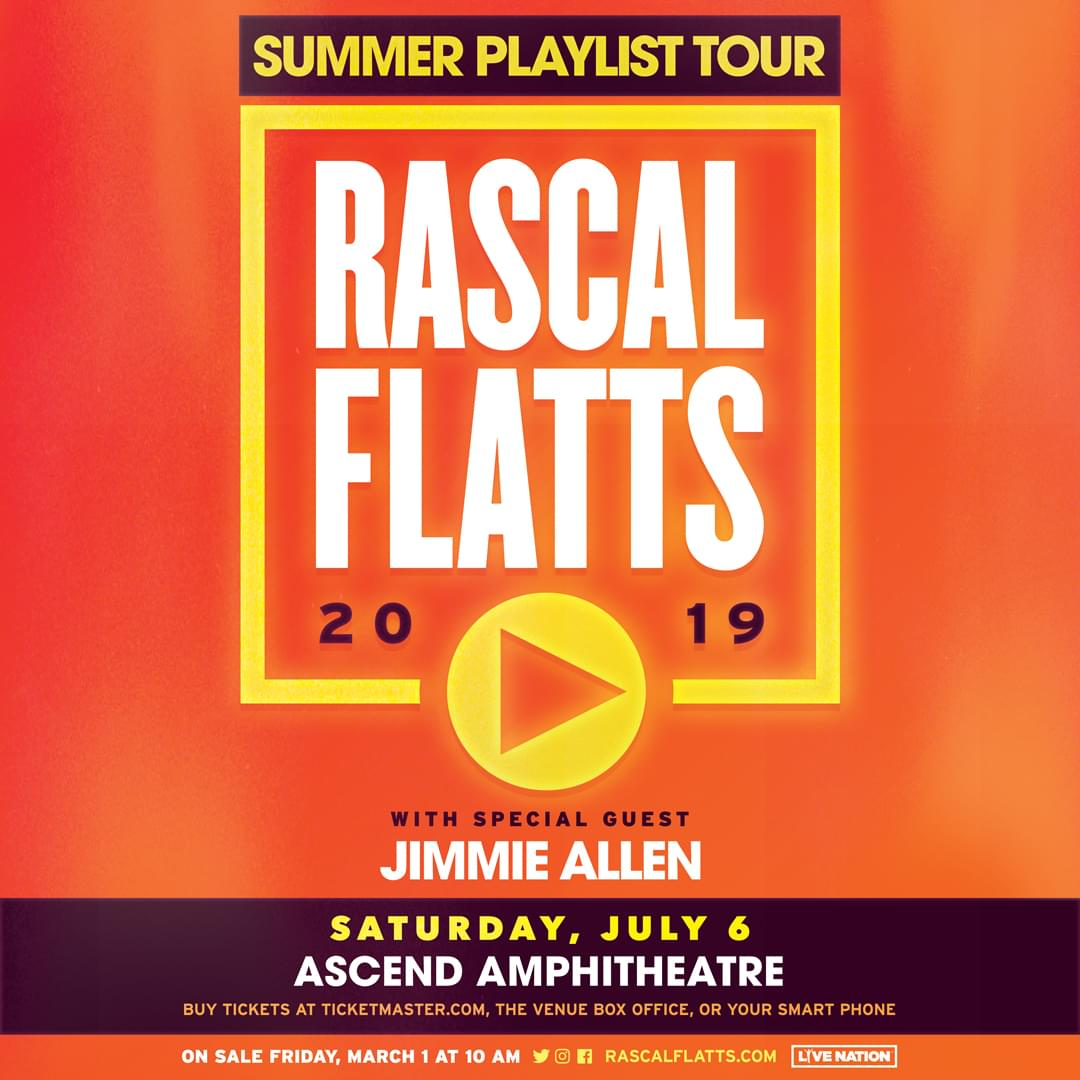 Rascal Flatts at Ascend Amphitheater