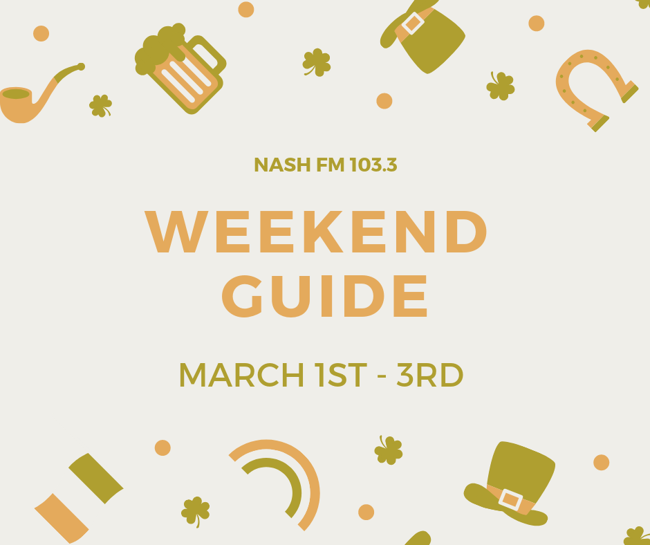 Weekend Guide: March 1-3