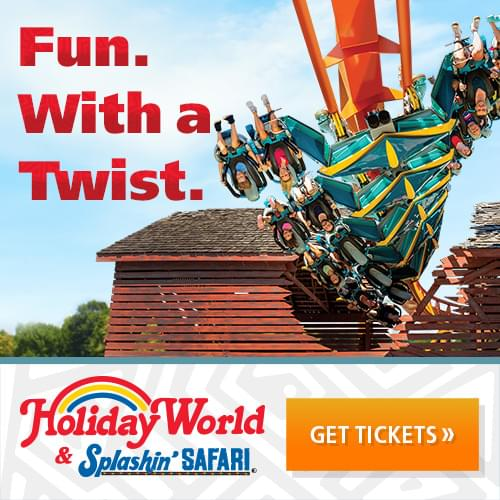 Win Tickets to Holiday World & Splashin' Safari!