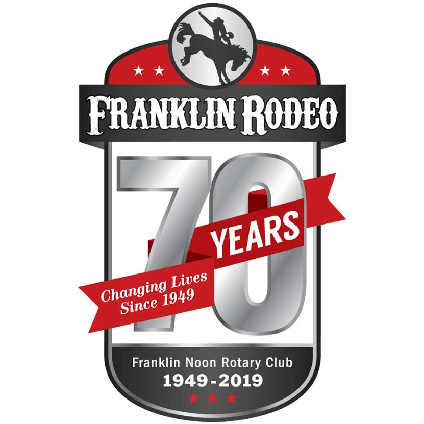 The 70th Annual Franklin Rodeo – May 16th – 18th