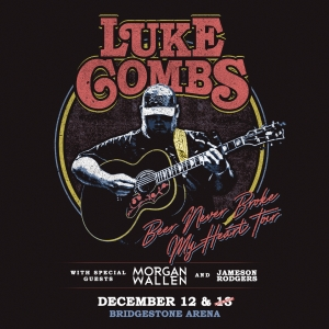 "Luke Combs – ""Beer Never Broke My Heart"" Tour – 2nd Show Added!"